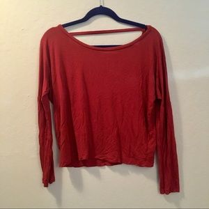 Forever 21 Low Back Top